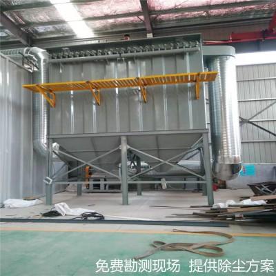 郑州环隙喷吹脉冲袋式除尘器