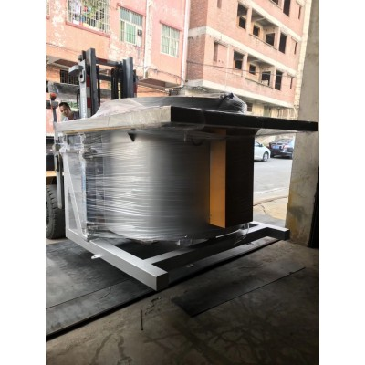 600Kg可倾式熔化炉 燃气式翻转熔铝炉重力压铸熔炼设备