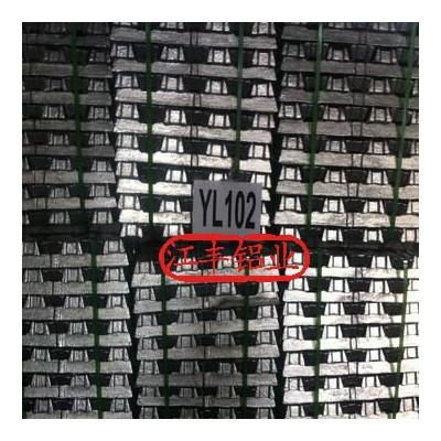 供国标压铸铝合金锭YL102