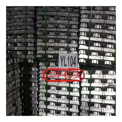 供国标压铸铝合金锭YL104