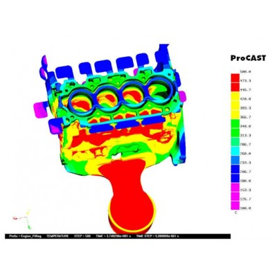 Procast铸造模拟精密铸造热辐射分析软件正版报价代理商