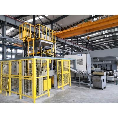 供應壓鑄件大型切邊機 配套機械手