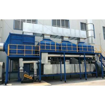 5万风量催化燃烧设备价格 催化燃烧设备生产厂家