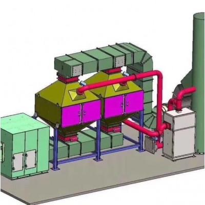活性炭吸附脱附催化燃烧装置技术说明