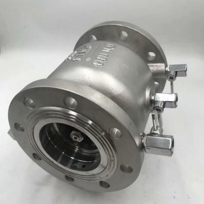 不锈钢低阻力倒流防止器、HLS745X新型低阻力倒流防止器