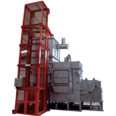铝合金连续集中熔化炉