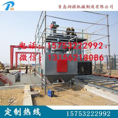 厂家供应钢板线抛丸机,型材抛丸机,钢管抛丸机