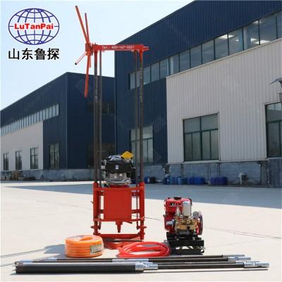 鲁探QZ-2B型岩心勘探钻机便携式取芯钻机