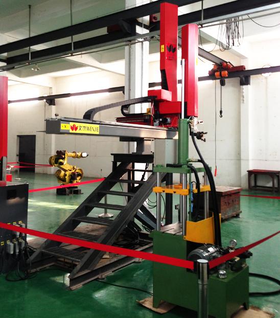 WJA壓鑄專用線性機器人