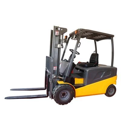四轮电动叉车 托盘装卸车 电瓶叉车堆垛铲车平衡重叉车