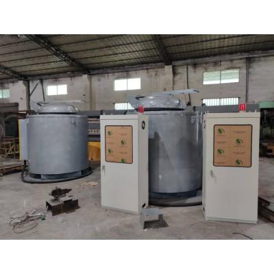 供应150公斤压铸熔铝炉压铸机机边炉铝合金电保温炉