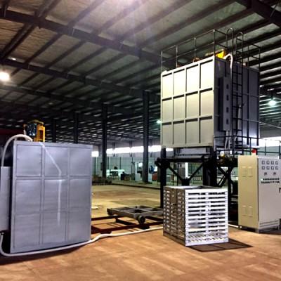升降式铝合金快速固溶炉 低压铸造铝制品T6淬火炉