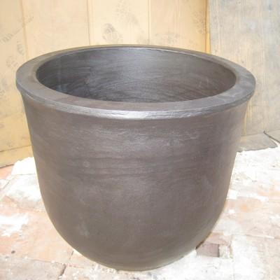供应350公斤熔铝坩锅进口品牌维苏威节能等静压石墨坩锅
