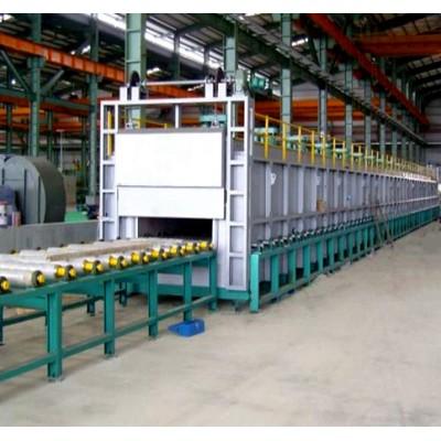 铝轮毂推杆式淬火炉供应汽车铝铸造大型快速固溶炉定制厂家