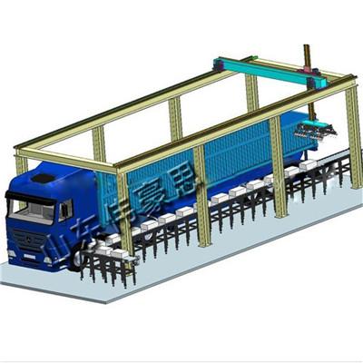 免人工自動裝車機 工業鹽機器人裝車機