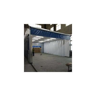 移动伸缩式环保油漆房工作原理及设计方案