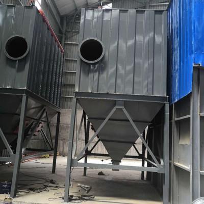 江西南昌商砼加工厂离线分室脉冲除尘器15000风量除尘设备