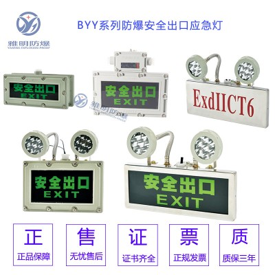 2w3w4wExdIICT6壁挂式防爆安全出口疏散指示灯