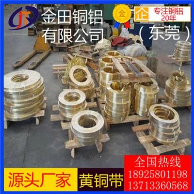 供应批发h65黄铜带/h85耐冲压黄铜带,h60黄铜带