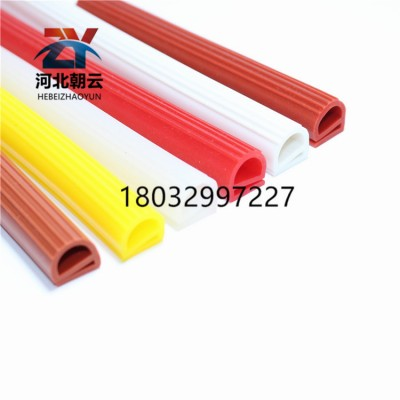 耐高温硅胶e型密封条