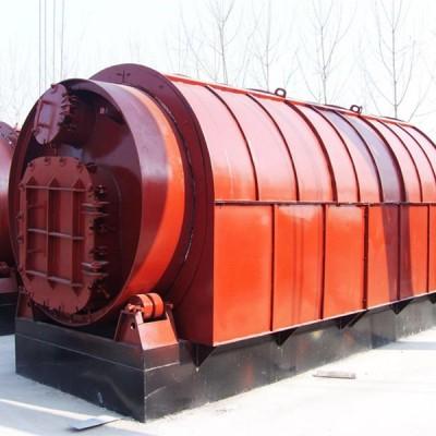 废塑料再生处理炼油裂解设备