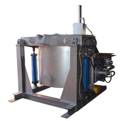 500kg倾倒式熔铝炉供应倾倒式熔铝炉价格倾倒式熔铝炉厂家