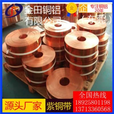长期供应t3紫铜带/t1抗氧化紫铜带,高精度t8紫铜带