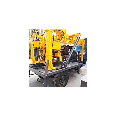 HW-160S三轮车载液压水井钻机 移动方便的农用打井机