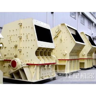 石粉反擊式破碎機工作原理FRR93