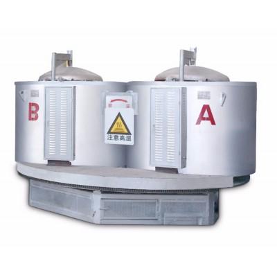 旋转式坩锅熔铝炉厂家旋转式坩锅熔铝炉直销旋转式坩锅熔铝价格