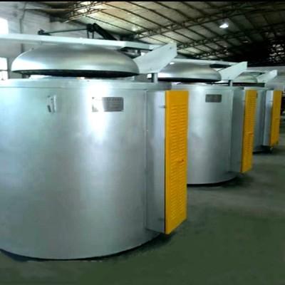 供应800公斤熔铝炉压铸机机边炉保温炉铝合金熔炼炉厂家