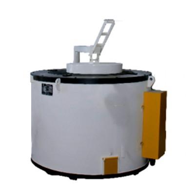 300公斤压铸机边保温炉价格坩锅式电保温炉供应熔铝炉批发