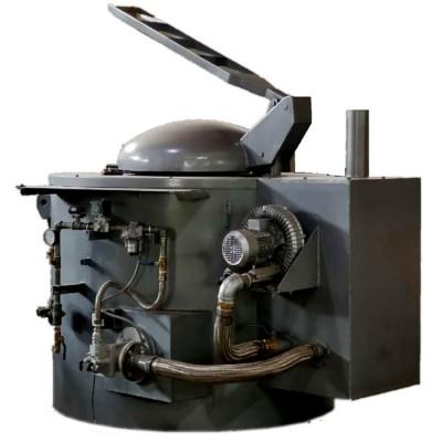 500kg燃气式熔铝炉供应燃气式熔铝炉价格燃气式铝合金熔化炉