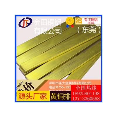 h59黃銅排,h96高強度無鉛黃銅排-h68可拉伸黃銅排