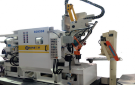 SCH卧式挤压铸造机生产现场