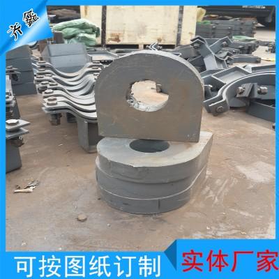 沧州齐鑫紧固管卡A4   管夹   实体厂家 可订制