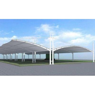 供西宁雨棚膜结构和青海加油站膜结构公司