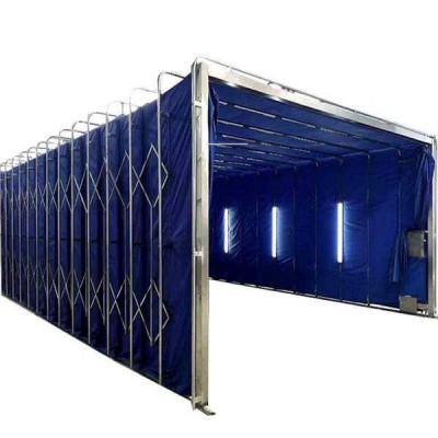 伸缩喷漆房 移动伸缩房 性能稳定节省时间