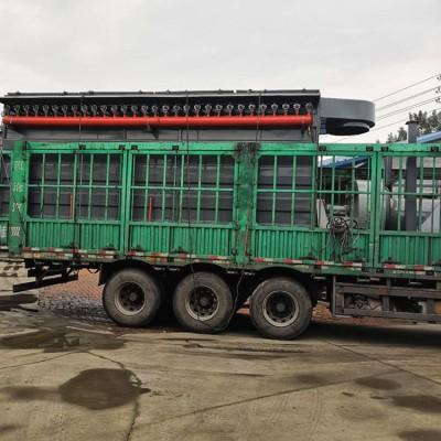 广西柳州同帮500袋脉冲除尘器四万风量袋式除尘过滤装置