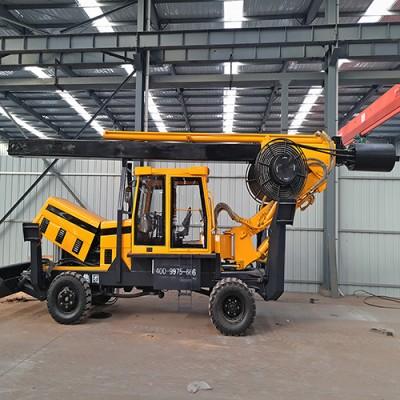 轮式旋挖打桩机 旋挖钻机 桥梁打桩机 轮式打桩机