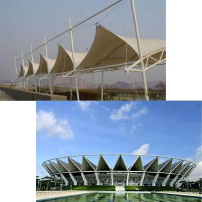 供西宁膜结构大型馆场与青海雨棚膜结构公司