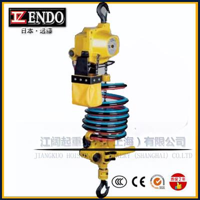 ENDO气动葫芦吊车_ENDO远藤气动葫芦调速度方法
