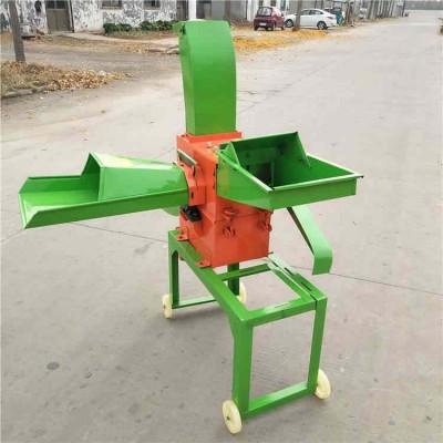 高粱玉米秸秆揉丝机 饲养场干湿两用铡草粉碎机 秸秆铡草揉丝机