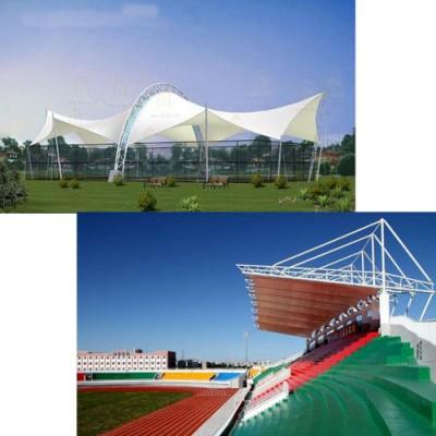 供西宁体育场看台膜结构和青海膜结构制造