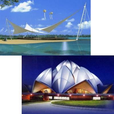供西宁张拉膜结构和青海景观膜结构工程