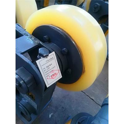 滚轮罐耳安装方式L35罐笼缓冲轮厂家定做批量供应