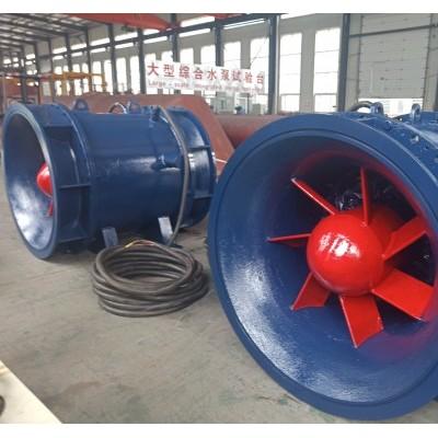 济南市双向排灌效率高双向全贯流潜水电泵厂家