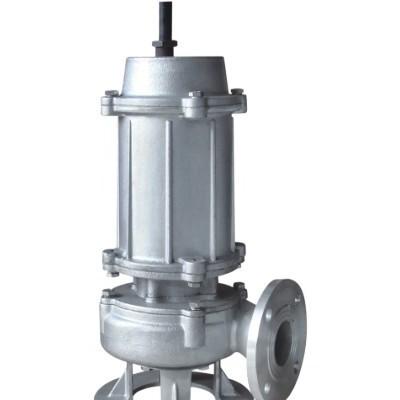 工厂排污杂物切割400QW潜水排污泵