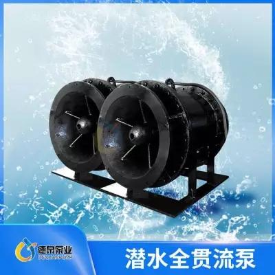 全贯流潜水泵厂家报价 湿定子结构贯流泵代理商