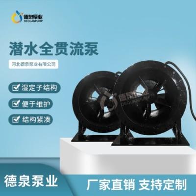 广州导轨耦合式安装900QGWZ全贯流泵 贯流泵代理机构